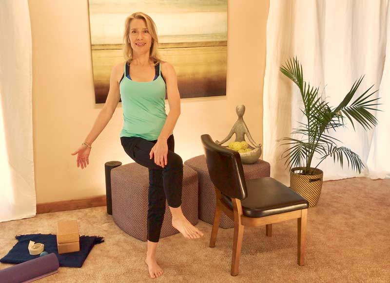 1-Minute Hips and Balance